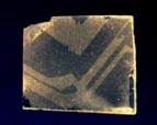 quartz etched surface section of crystal